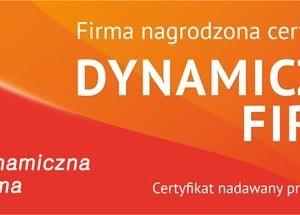 Ceryfikat Dynamiczna Firma