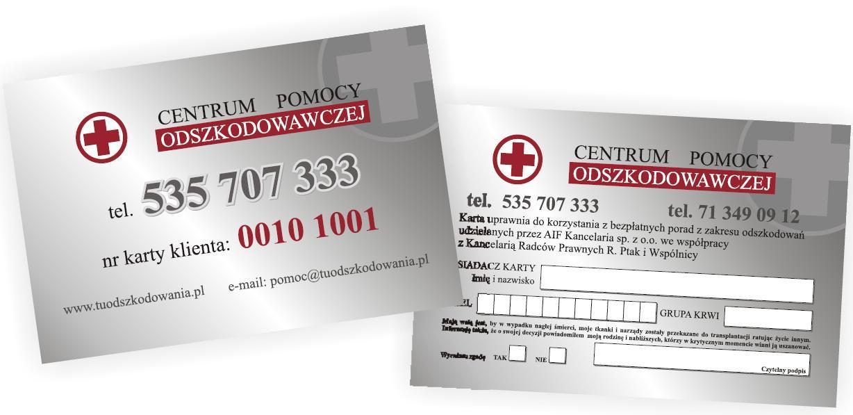 Karta Centrum Pomocy Odszkodowawczej