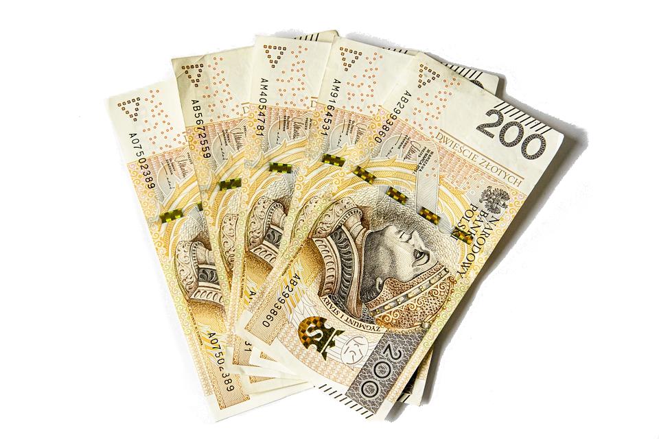 banknoty 200 PLN - odszkodowanie